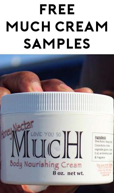 FREE Much Cream Oil Sample