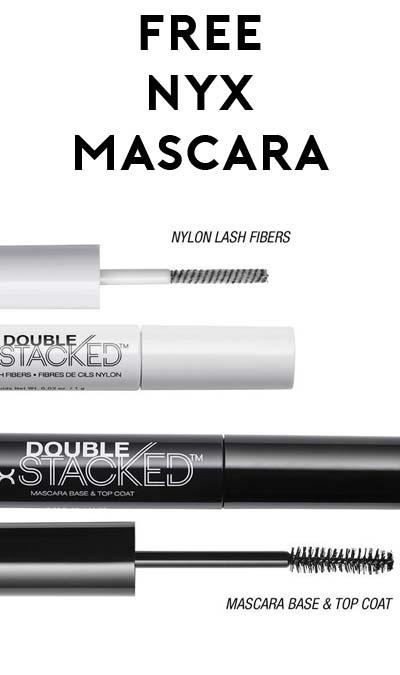 FREE NYX Double Stacked Mascara - Yo! Free Samples
