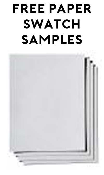 FREE Paper Swatch Samples From Paper-Papers