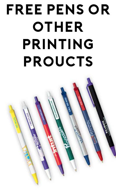 FREE Pen & Other Items From Charlotte Print Company