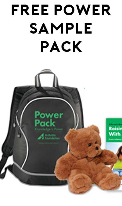 FREE Arthritis Samples Including Sling Bag, Hot-Cold Wrap Or Fuzzy Toy Bear From Child Or Teen Power Pack