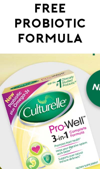 FREE Culturelle Pro-Well 3-in-1 Complete Formula