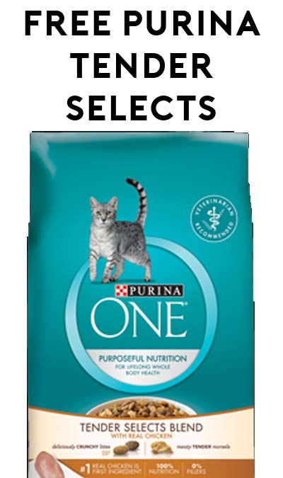 FREE Purina One Chicken Tender Selects Blend [Verified Received By Mail]