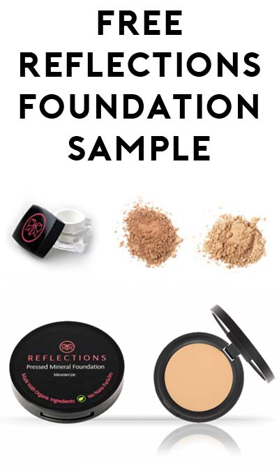 FREE Reflections Organic Foundation Sample (Singapore Only?)