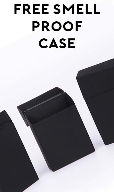 FREE Eco-Friendly Silicone Smell Proof Joint Case