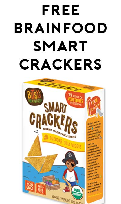FREE Bitsy's Brainfood Smart Crackers At 5PM EST For Mom's Week (Facebook Required / Not Mobile Friendly)