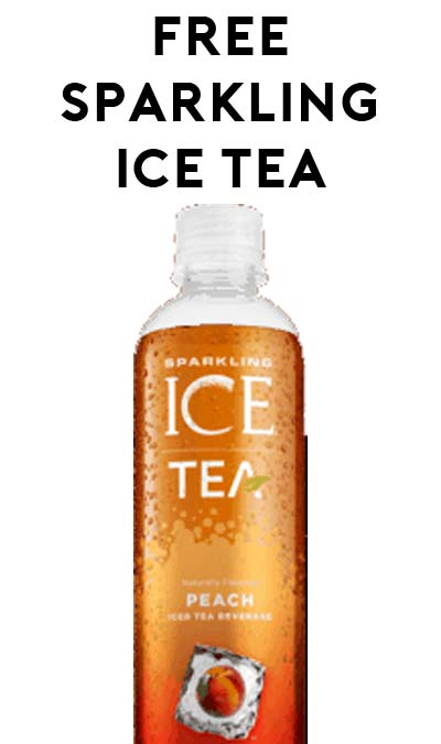 FREE Sparkling Ice Tea After Ibotta Rebate At Walmart