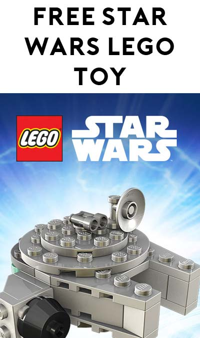 FREE Millennium Falcon Lego Mini Toy At Toys R Us May 7th