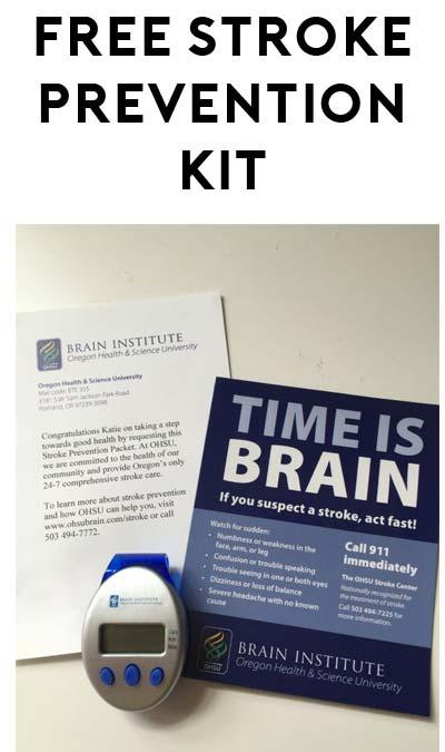FREE Stroke Prevention Kit From OHSU Brain Institute