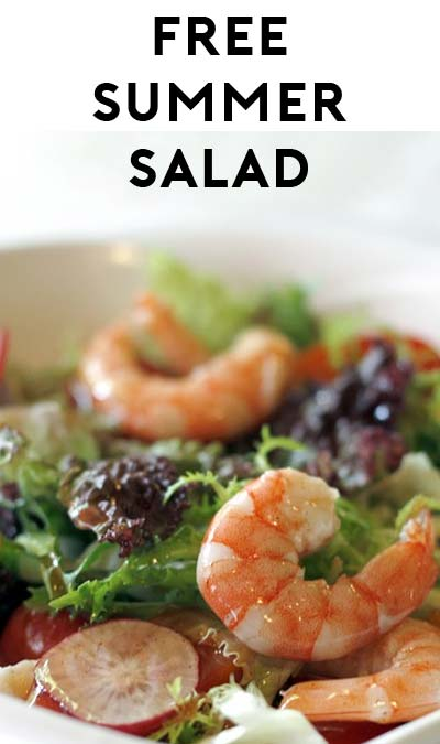 FREE Summer Salad At Noodles & Company (Select CO, MN, MO, MI, IN Locations Only)