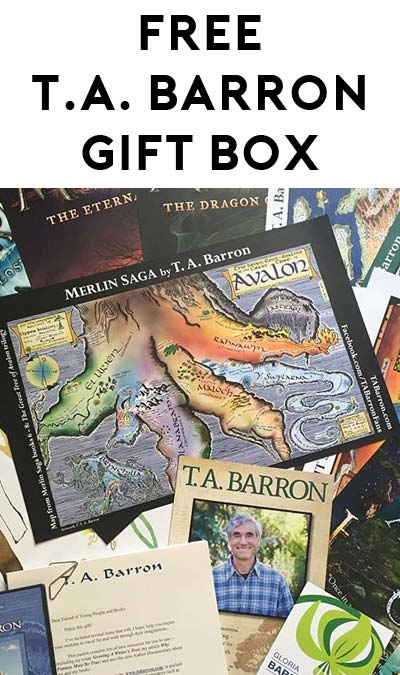 FREE Posters, Color Maps, Bookmarks, Reader's Guides & More Inside T.A. Barron's Gift Box For Educators Only