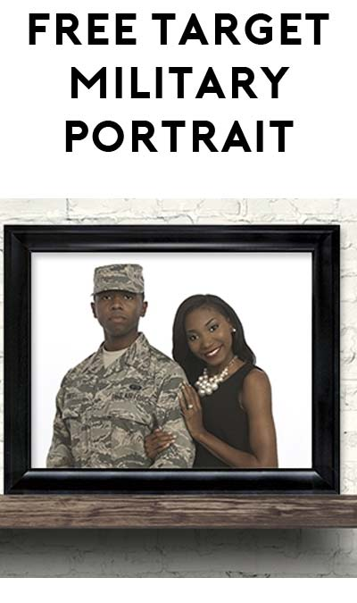 FREE 8×10 Portrait at Target Portrait Studio For Military Folks