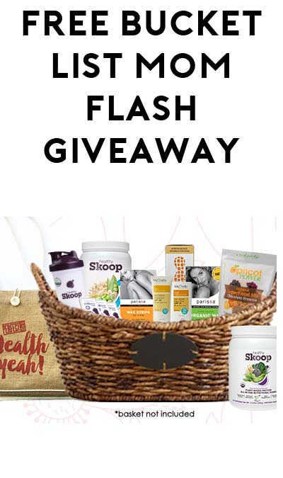 FREE TBLM Flash Giveaway At 7PM EST For Mom's Week / TheSamplerApp (Facebook Required / Not Mobile Friendly)
