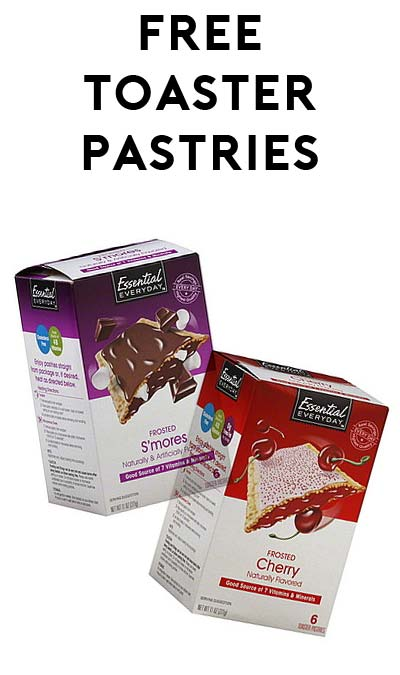 TODAY ONLY: FREE Essential Everyday Toaster Pastries Box At Farm Fresh, Hornbachers, Shop 'N Save, Shoppers & Cub Stores