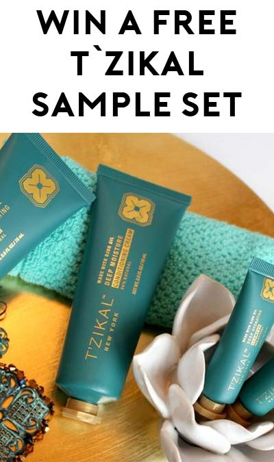 Win A FREE T'zikal Sample Set (Facebook Required)