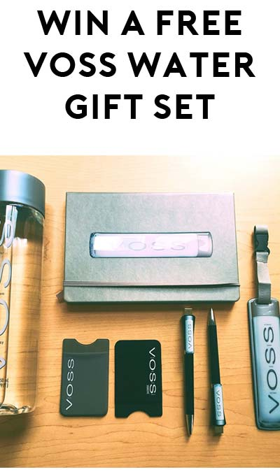 Win A FREE Limited Edition VOSS World Gift Sets (Facebook Required)