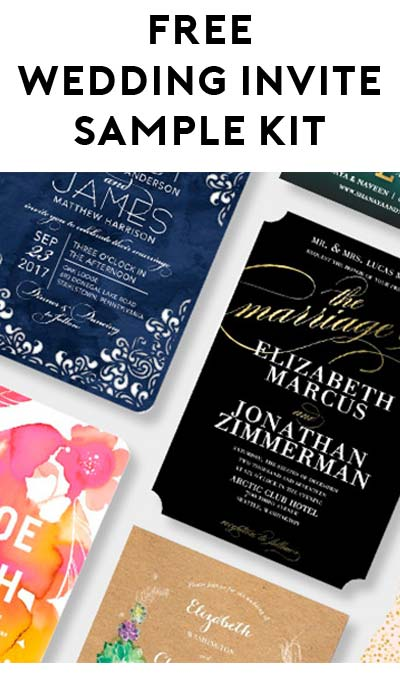 Free wedding sample kit: wedding invitations & envelopes | vistaprint.