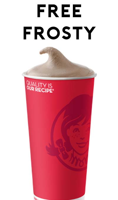 FREE Wendy's Frosty On Memorial Day (Select Locations)