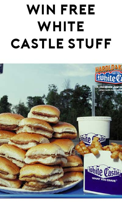 LIVE AT 2PM EST TODAY: FREE White Castle Gift Card, Gear, Coupons, Sliders Or Soda
