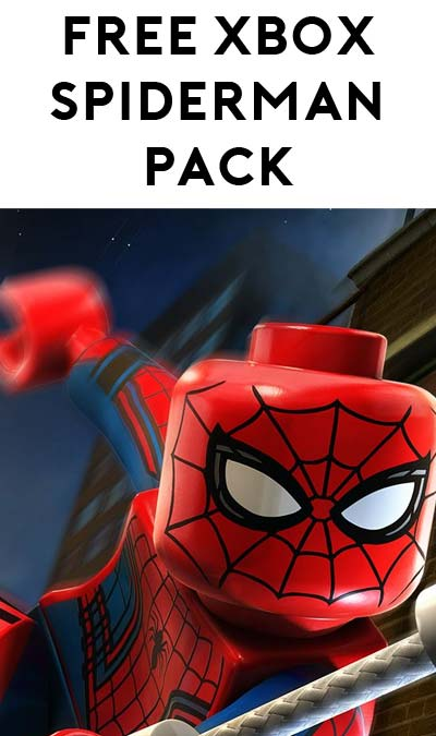 FREE Spider-Man LEGO Marvel's Avengers Character Pack For Xbox