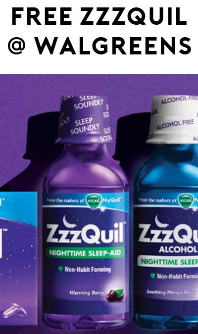 FREE ZzzQuil Sleep-Aid at Walgreens (Coupon & Rebate Required)