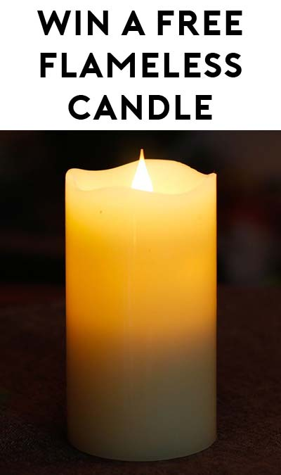 Win A FREE Flameless Candle (Twitter Required)
