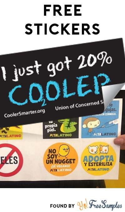 "2 FREE Stickers Today: Peta Latino Stickers & ""I Just Got 20% Cooler"" Sticker"