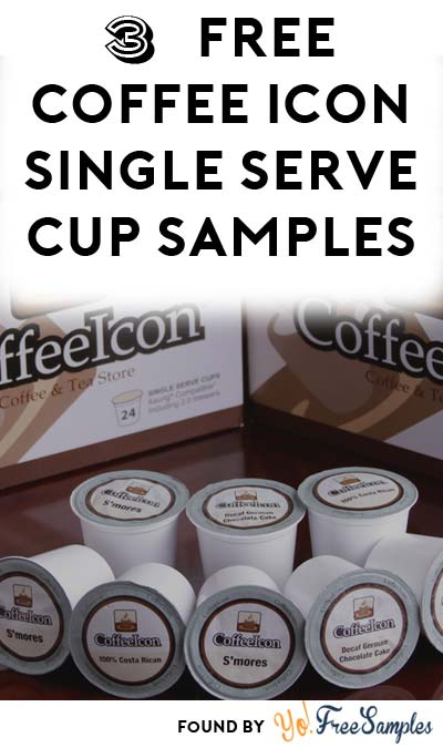 3 FREE CoffeeIcon Superstore Single Serve Coffee Cups