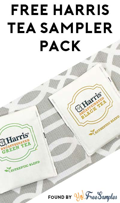 3 FREE Harris Tea Samples (Facebook Only / Not Mobile Friendly)