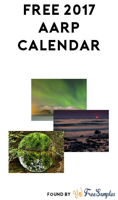 FREE 2017 AARP Foundation Calendar [Verified Received By Mail]