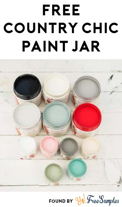 FREE 2 oz Country Chic Paint Jar Coupon (Redeem In-Store)