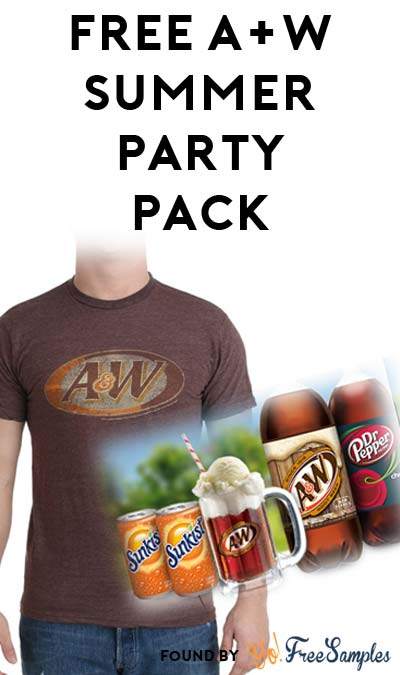 FREE A&W T-Shirt, Ice Cream Scoops, Mugs, Coupons & More (Apply To Host Party)