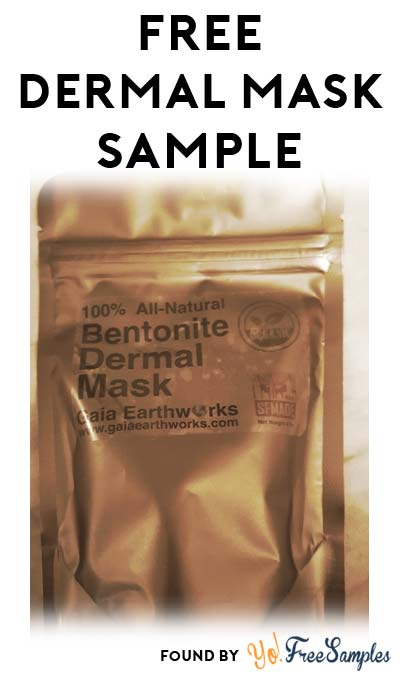 FREE All-Natural Bentonite Dermal Mask Sample From Gaia Earth Works (Email Confirmation Required)
