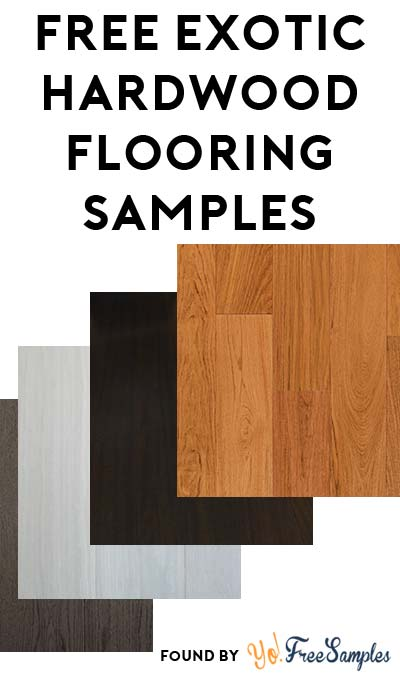 FREE BR-111 Exotic Hardwood Flooring Samples [Verified Received By Mail]