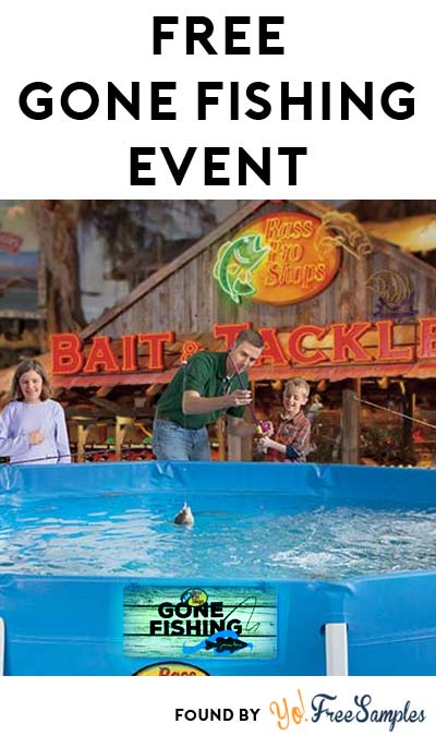FREE Bass Pro Shop Gone Fishing Event Including Catch & Release Pond, Photos, Door Hanger & More