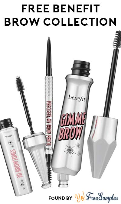 Win FREE Benefit Volumizing Fiber Gel, Instant Color Highlights & Ultra-fine Brow Defining Pencil
