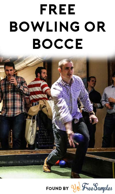 FREE Bocce Or Bowling Hour At Pinstripes (IL, MN, DC, KS Only)