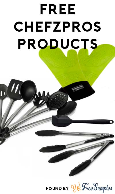 FREE ChefzPros Silicone Cooking Gloves, Stainless Steel Tongs & More For Referring Friends