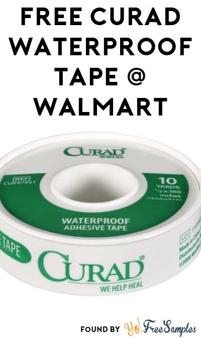 FREE Curad Waterproof Adhesive Tape At Walmart (Coupon + MobiSave Required)