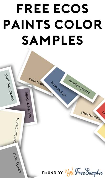 FREE ECOS Paints Color Samples