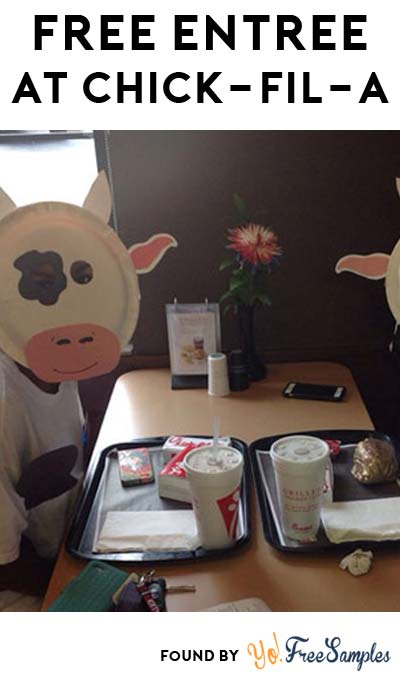 FREE Entrée For Cow Appreciation Day At Chick-Fil-A