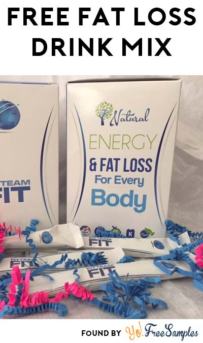 Possible FREE FITTEAM Fit Fat Loss Zero-Calorie Drink Mix