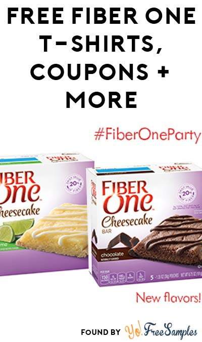 FREE Fiber One T-shirts, Coupons, Recipes & More (Apply To Host Party)