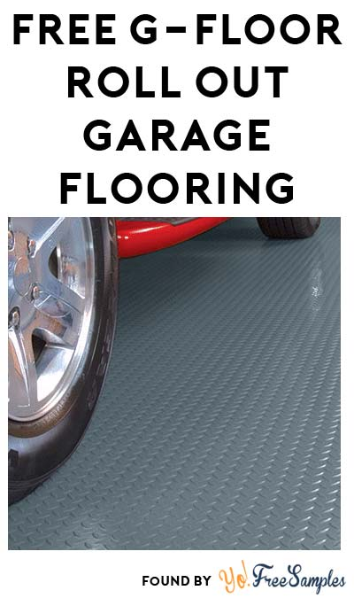 FREE G-Floor Roll Out Garage Flooring Sample