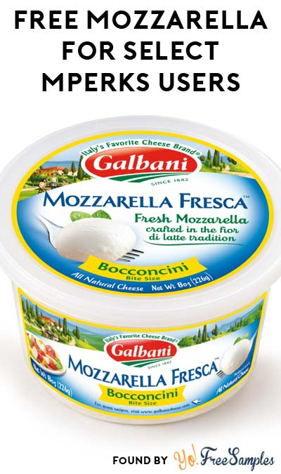 FREE Galbani Fresh Mozzarella Fresca Ball (Select Meijer mPerks Users)