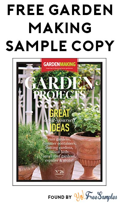 FREE Garden Making Sample Copy