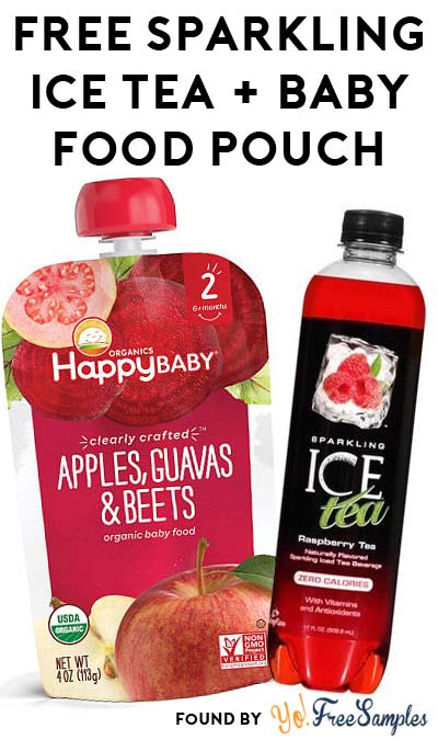 FREE Happy Baby Clearly Crafted Baby Food Pouch & Sparkling Ice Tea At Farm Fresh, Hornbachers, Shop 'N Save, Shoppers & Cub Stores
