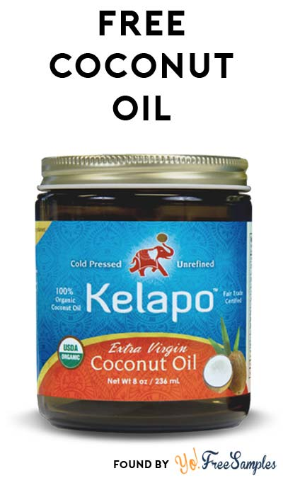 FREE Kelapo Extra Virgin Coconut Oil Sample (Email Required)