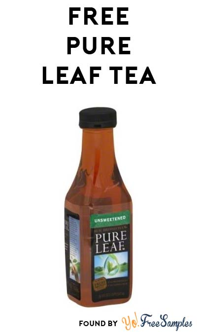 TODAY ONLY: FREE Lipton Pure Leaf Tea At Kroger, Fry's, Ralphs, Dillons & Others