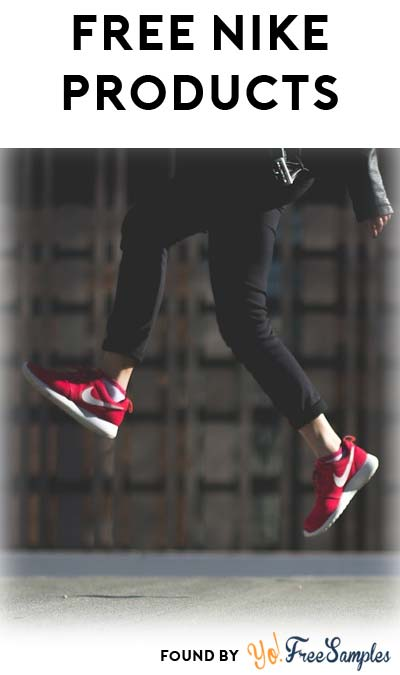 FREE Nike Products For Becoming An Apparel Or Footwear Tester (Must Apply)